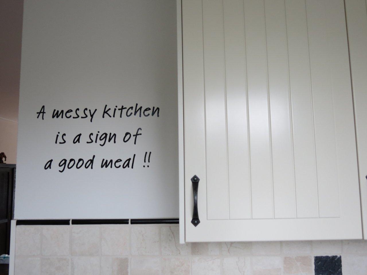 Muurstickers Keuken Teksten : Voorbeelden Gesneden Tekst/Folie voor in elke kamer